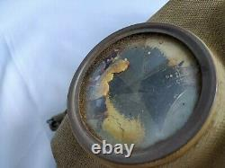 WW2 IMPERIAL JAPANESE ARMY SOLDIER and civilian Original Gas Mask and Tank-d0609