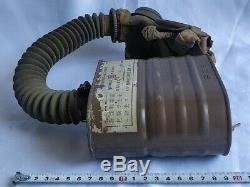 WW2 IMPERIAL JAPANESE ARMY SOLDIER and civilian Original Gas Mask -c0608