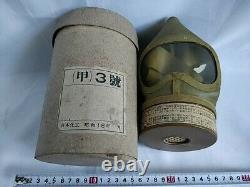 WW2 IMPERIAL JAPANESE ARMY SOLDIER and civilian Original Gas Mask -d0514