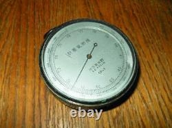 WW2 Imperial Japanese Army 24th Mountain Division Pocket Altimeter VERY NICE