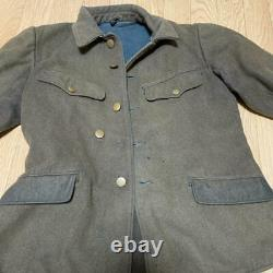 WW2 Imperial Japanese Army 98 type military uniform Real wool F/S