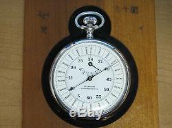 WW2 Imperial Japanese Army Artillery Seikosha Phonotelemeter Stopwatch in Box