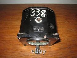 WW2 Imperial Japanese Army Directional Gyroscope Ki-67 Serial #338 RARE