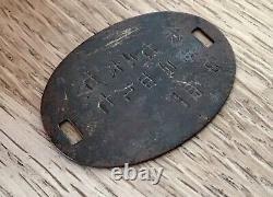 WW2 Imperial Japanese Army Dog Tag