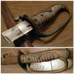 WW2 Imperial Japanese Army Gunto Double-handed Saber Military name seki
