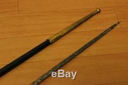 WW2 Imperial Japanese Army Gunto saber Very Rare! Military Antique Free/Ship