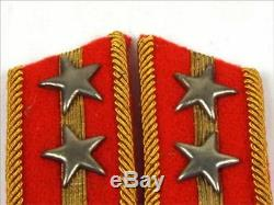 WW2 Imperial Japanese Army Lieutenant Type 3 Collar Badge Tab Fast F/S From JPN