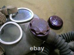 WW2 Imperial Japanese Army Navy Type 93 Gas Mask Set Very rare