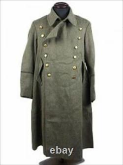WW2 Imperial Japanese Army Officer Mantle Coat With Hood Fast Free Shipping JPN