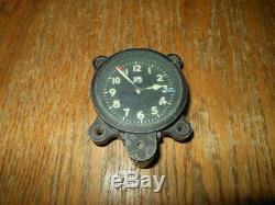 WW2 Imperial Japanese Army Seikosha Model 100 AIRCRAFT CLOCK VERY RARE