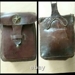 WW2 Imperial Japanese Army Star-filled small drawing accessory case military