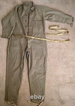 WW2 Imperial Japanese Army Tank Crew Uniform