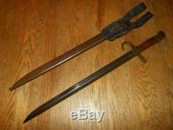 WW2 Imperial Japanese Army Type 30 Bayonet #1 TOYODA ARSENAL VERY NICE