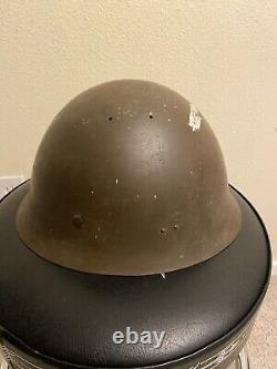 WW2 Imperial Japanese Army Type 90 Combat Helmet