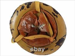 WW2 Imperial Japanese Army Type 90 Iron Helmet With Anchor Mark Shipping Free JPN