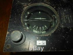 WW2 Imperial Japanese Army Type 95 Autopilot Directional Gyroscope VERY RARE
