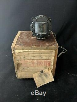 WW2 Imperial Japanese Army Type 98 aircraft compass NOS original shipping crate