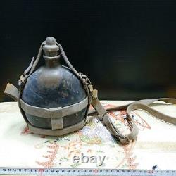 WW2 Imperial Japanese Army Water Bottle Military Antique Free/Ship