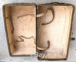 WW2 Imperial Japanese Army storage trunk bag Military Antique Free/Ship