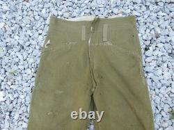 WW2 Imperial Japanese Army trousers Military Antique Free/Ship! 2