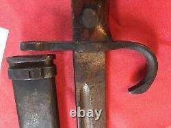 WW2 Imperial Japanese Bayonet Early School Type 99 Rifle Rocking Star