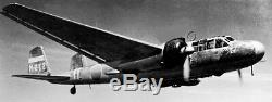 WW2 Imperial Japanese Navy Aluminum Aircraft Hinomaru Meatball G3M NICE