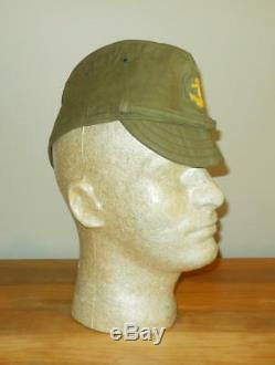 WW2 Imperial Japanese Navy EM / NCO Summer Field Side Cap #2 EXCELLENT