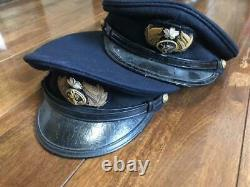 WW2 Imperial Japanese Navy Officer Cap Badge Military Antique Free/Ship