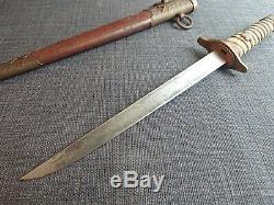 WW2 Imperial Japanese Navy Officer Dagger Sword