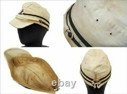 WW2 Imperial Japanese Navy Officer Type 2 Side, Field, Forage, Garrison Cap F/S