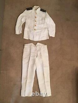 WW2 Imperial Japanese Navy Officers Summer Uniform