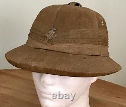 WW2 Imperial Japanese Navy Officers Tropical Sun Helmet