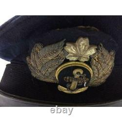 WW2 Imperial Japanese Navy officer military cap Military Free/Ship