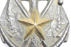 WW2 Imperial Japanese Paperweight Army Navy 1935 Military Antique