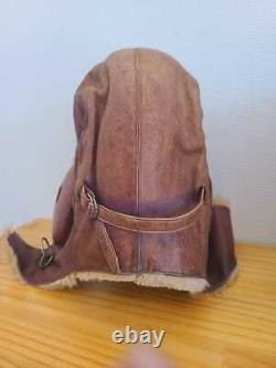 WW2 Imperial Japanese Pilot Hat Air Force Military Antique Free/Ship