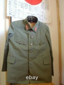 WW2 Imperial Japanese Type 98 Captain Uniform-Excellent Condition-Makers Tag