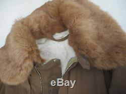 WW2 Imperial Japanese Winter Flight Suit Rabbit Fur Lining Rare