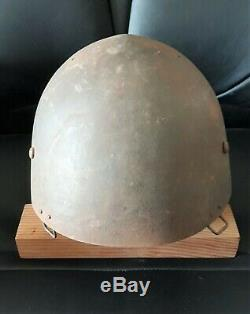 WW2 JAPANESE Imperial Navy paratroopers Helmet Anchor is a reproduction