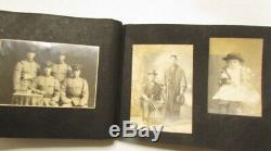 WW2 Japanese Army Photo Album antique imperial picture Book WWII 64pics F/S