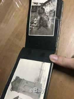 WW2 Japanese Army Photo book 42 pics antique imperial picture Album WWII F/S