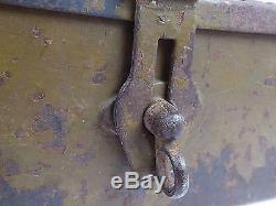 WW2 Japanese Imperial Army Heavy Machine Gun Case Metal Free Ship from Japan M19