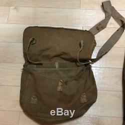 WW2 Japanese Imperial Army Uniform Set Jacket Pants Bag Gaiters Emblem 98Type FS