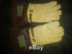 WW2 Japanese Imperial Navy Pilot helmet, gloves & scarf! Extremely rare. NICE