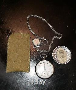 WW2 Japanese Imperial RARE RAIL POCKET WATCH COLLECTIBLE original military