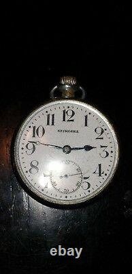 WW2 Japanese Imperial RARE RAILWAY POCKET WATCH COLLECTIBLE original
