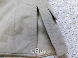 WW2 Japanese M98 winter tunic. Imperial Japanese Army private 1st class. Original