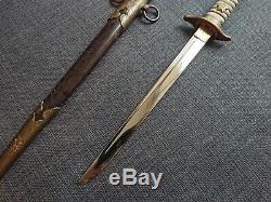 WW2 Rayskin Imperial Japanese Navy Officer Dagger Sword Premium Version