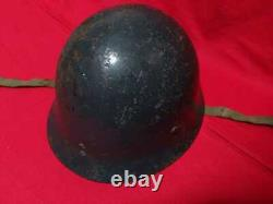 WW2 Real Imperial Japanese Navy Type 90 Iron Helmet Military
