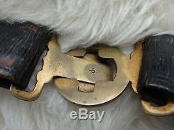 WW2 World War 2 Japan Imperial Japanese Navy Katana Belt withsword hooks