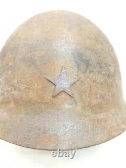 WW2 imperial Japanese Army Helmet Military Type 90 Iron Liner From JP